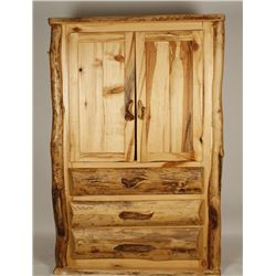 Custom Made Aspen Wood Wardrobe