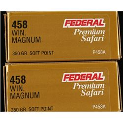 40 Rounds of .458 Winchester Magnum
