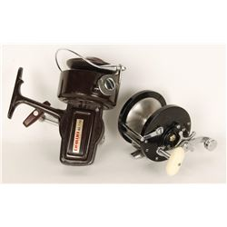 Lot of 2 Fishing Reels