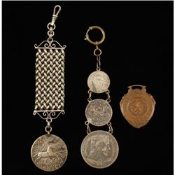 Collection of 3 Watch Fobs