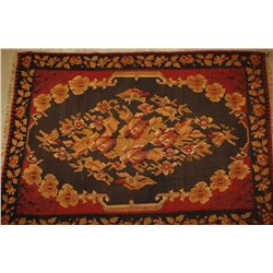 Needlepoint China Flatweave Rug