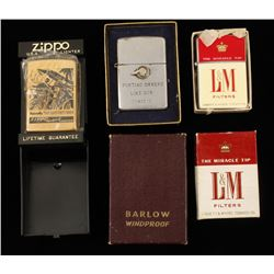 Collection of Zippo Lighters
