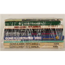 Lot of 9 Firearms Annual Editions