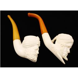 Collection of 2 Meerschaum Pipes