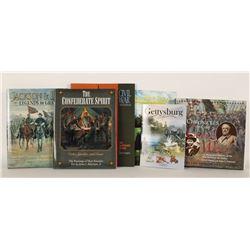 Lot of Six Civil War Books