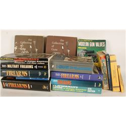 Lot of 14 Firearm and Automotive Value Books