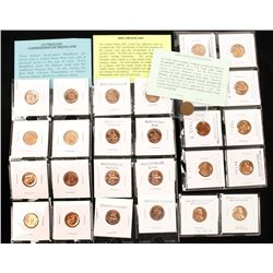 Lot of Pennies and Medallions