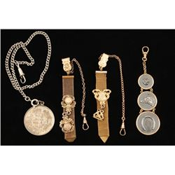 Lot of 4 Watch Fobs