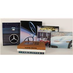 Lot of 7 Books on Cars & Houses