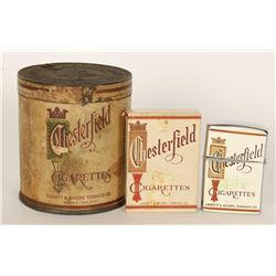 Chesterfield Tobacco Co. Original Tin