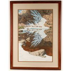 """Fine Art Print """"Season of the Eagle"""""""