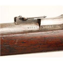 Springfield 1870 Trapdoor Cal: 50-70 SN:40227