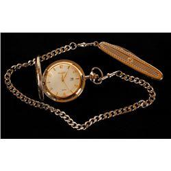Elgin Pocket watch & Knife Set