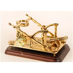 Franklin Mint cannon Sundial
