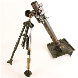 WWII US Dewat M2 60mm Mortar SN: 20131