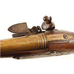18th Century Continental Flintlock Pistol