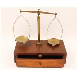 Antique Miners Gold Scale