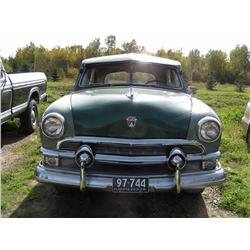 1951 Ford Cutom Delux - Four Door Sedan (with appraisal)