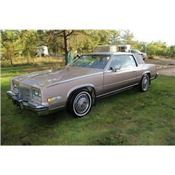 1983 Cadillac Biarritz - 91,000 km. (with appraisal)
