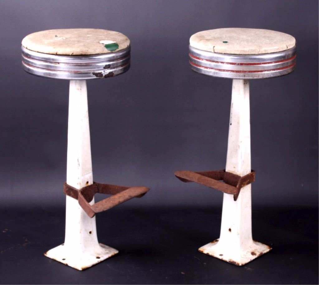 Remarkable Antique Soda Fountain Bar Stools Alphanode Cool Chair Designs And Ideas Alphanodeonline