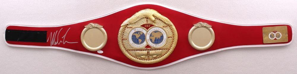 c356c182c99 Mike Tyson Signed IBF High Quality Replica Full-Size Belt (JSA COA)