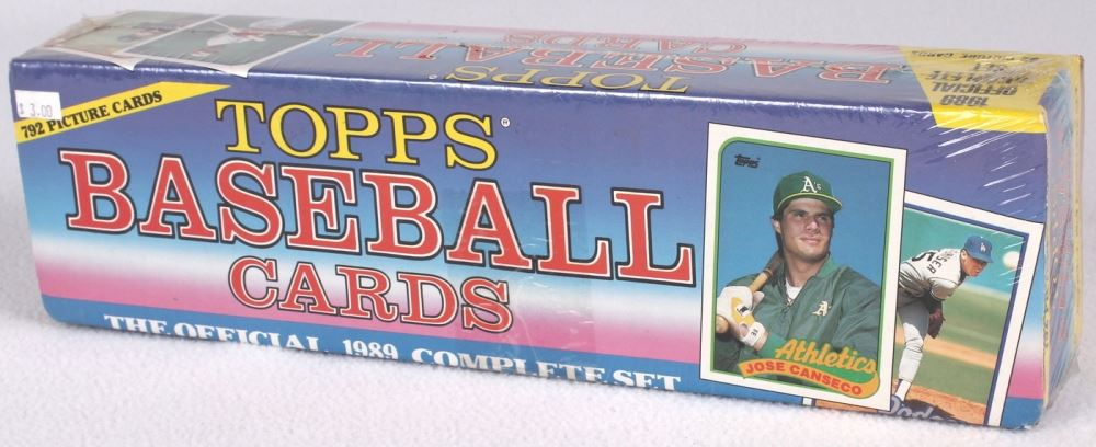 Complete Set Of 792 1989 Topps Baseball Cards With 49 Craig