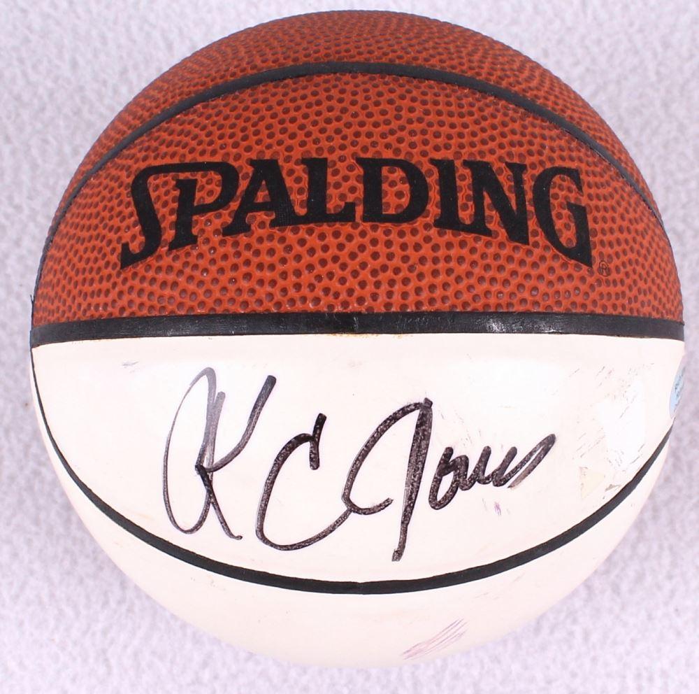 76ae6e23de9c8 K.C Jones Signed Mini Basketball (Hollywood Collectibles COA)
