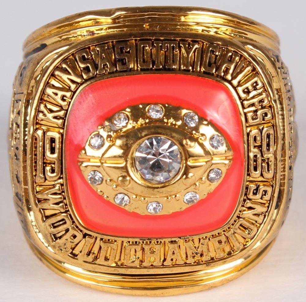 88eb00b3316 Image 1   Warren McVea Kansas City Chiefs High Quality Replica 1969 Super  Bowl IV Championship ...