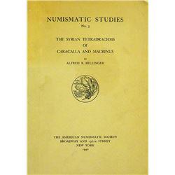 Syrian Tetradrachms of Caracalla & Macrinus