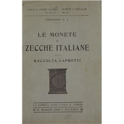 Rare Catalogue of Italian Coins in the Caprotti Collection