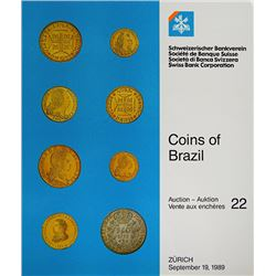 Notable SBC Sale of Coins of Brazil