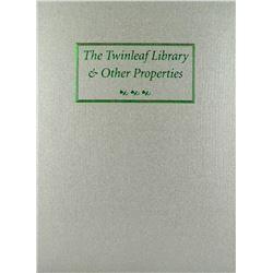 Hardcover Twinleaf & Bassoli Libraries