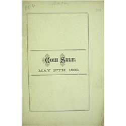 Three 1880 S.H. Morgan Sales, All Hand-Priced