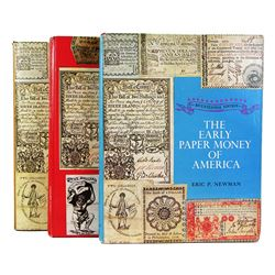 First Three Editions of Newman on Paper Money