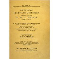 Fine 1925 W.W.C. Wilson Sale