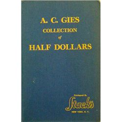 Hardcover Edition Gies Half Dollar Sale