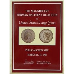 Scarce Halpern Hardcover Large Cent Sale