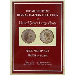 Scarce Halpern Hardcover Large Cent Sale