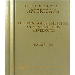 Two-Volume Hain Family Americana Sale