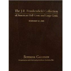 The Deluxe Edition J.R. Frankenfield Catalogue, One of Only a Few Produced