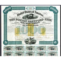 Boston, Hartford & Erie Rail Road Co. 1866.