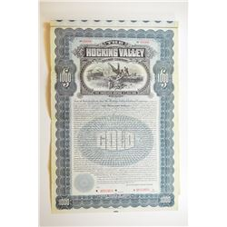 Hocking Valley Railway Co. 1899 Specimen Bond.