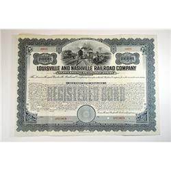 Louisville and Nashville Railroad Co., Atlanta, Knoxville and Cincinnati Division, 1905 Specimen Bon