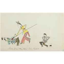 Collection of 3 Ledger Drawings