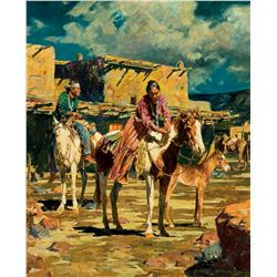 Navajos in Old Town