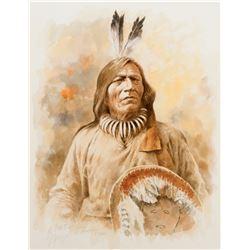 Full Bull. Sioux Medicine Man
