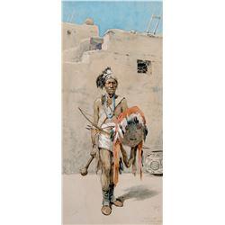 Nyutchi, The Old War Chief, Zuni