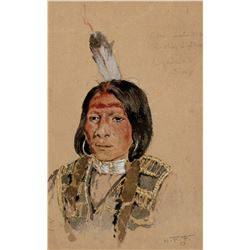 Ogalalah Sioux, Rushing Lightning