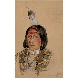 Ogalalah Sioux, Rushing Lightning