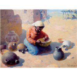Papago Mending Pottery